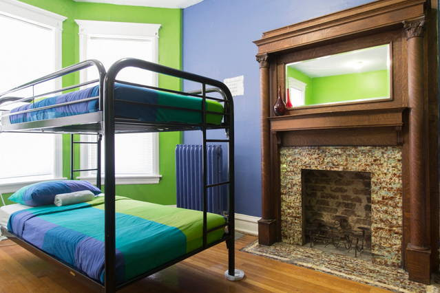 Wrigley Hostel offers comfortable and private 2 bed dorms!