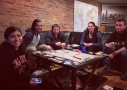 Wrigley Hostel in Chicago loves playing Ticket to Ride!