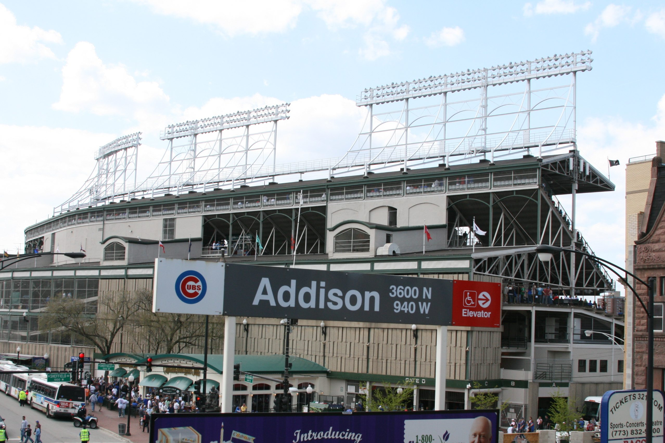 Wrigley hostel is conveniently located next to the Addison Redline Stop in Chicago.