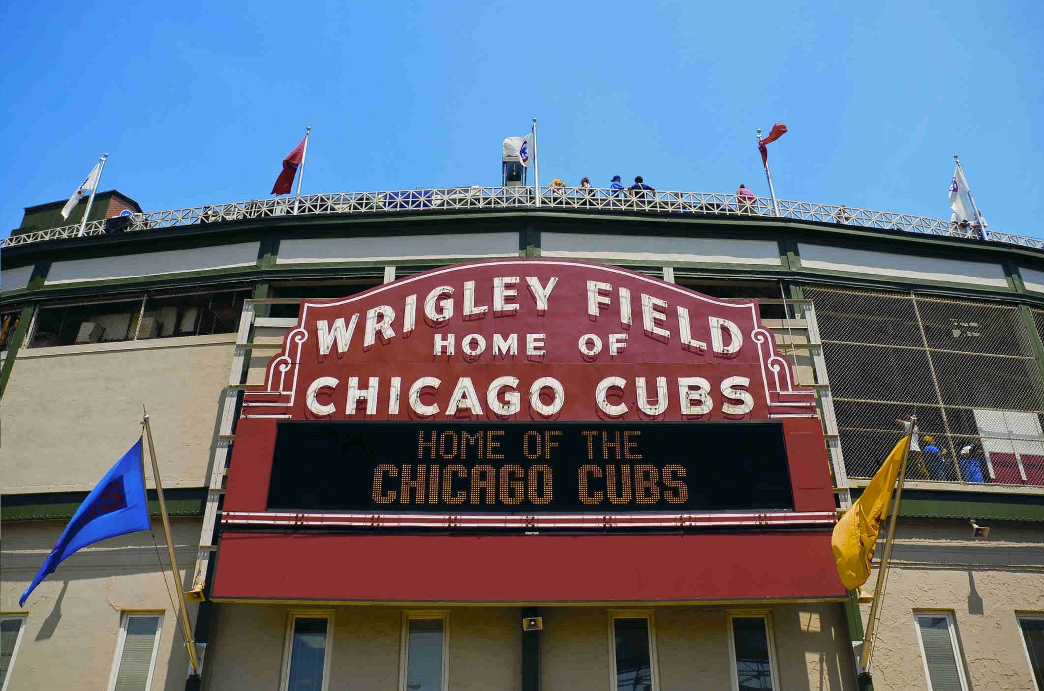 Wrigley Hostel is located next to wrigley field in Chicago!