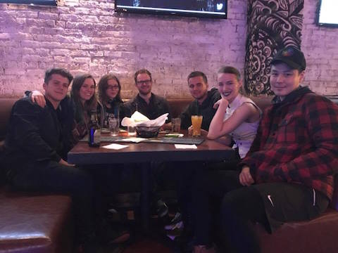 We had a great hostel group for this weeks wrigleyville bar crawl