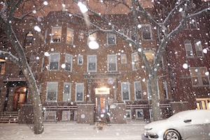 We embrace Chicago's Snow Storms!