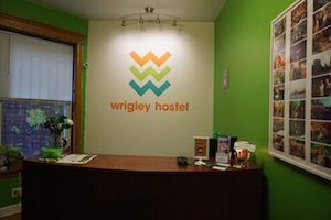 Make sure to come check in to wrigley hostel at our reception desk!