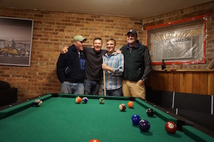 Even our Bachelor Parties love to play pool!