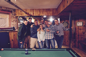 We love hosting bachelor parties at Wrigley Hostel in Chicago
