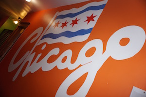 Ida Painted a Chicago Mural in Wrigley Hostel