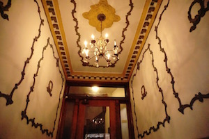 Check out our old entry way at Wrigley Hostel!