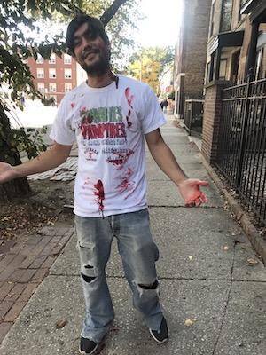 Make sure to book with Wrigley Hostel on our Zombie pub Crawl!