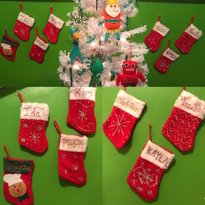 All your Wrigley Hostel Staff has a stocking!