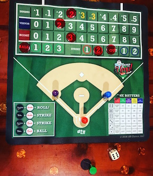 Playing Dump the Ump at Wrigley Hostel!